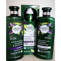 herbal essence cucumber and green tea shampoo review