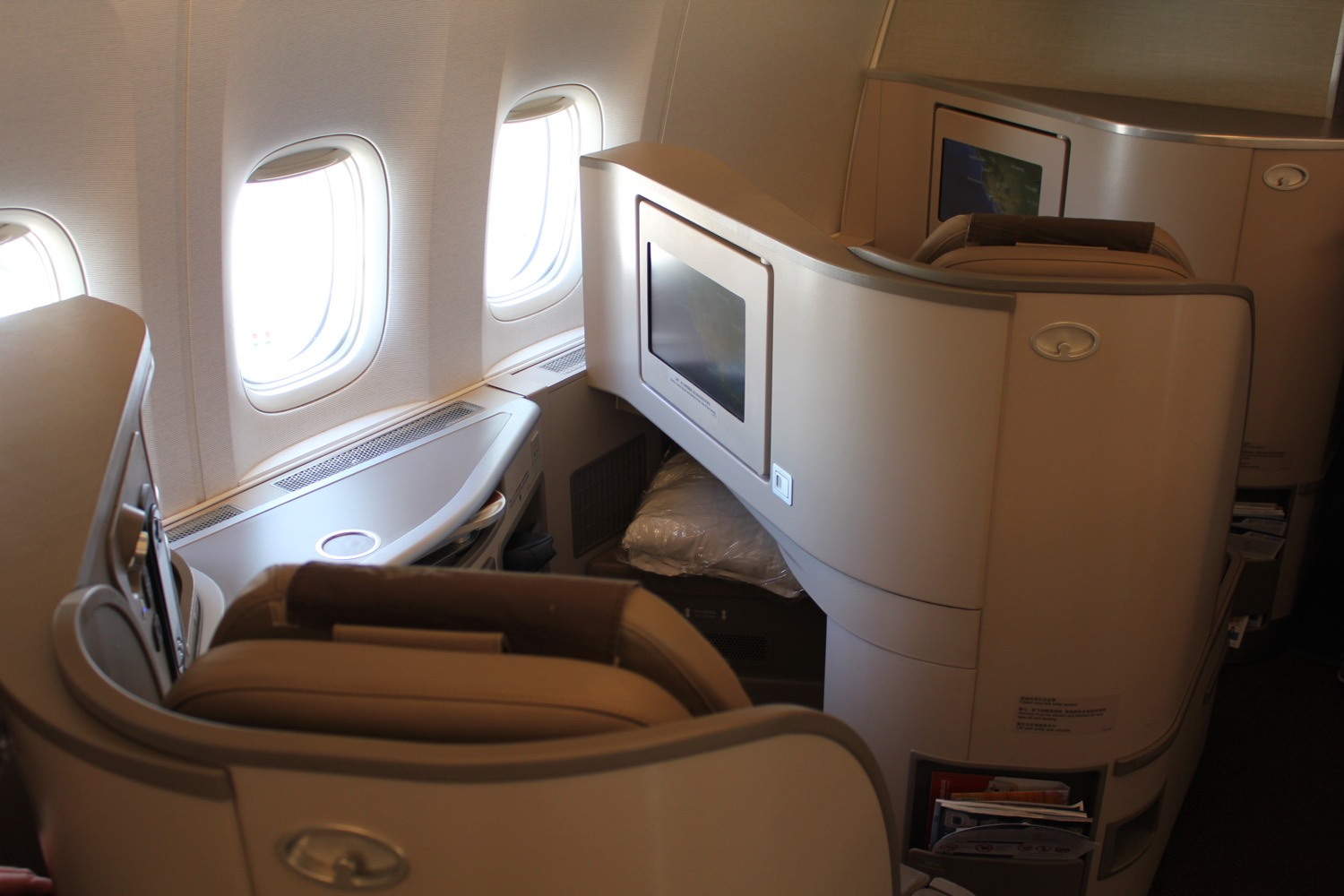 china eastern business class 777 review