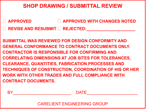 how to review shop drawings