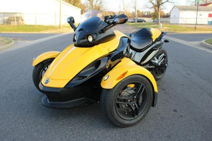 2008 can am spyder review