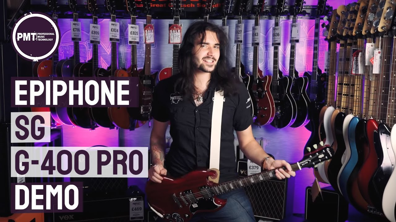 epiphone sg 400 pro review