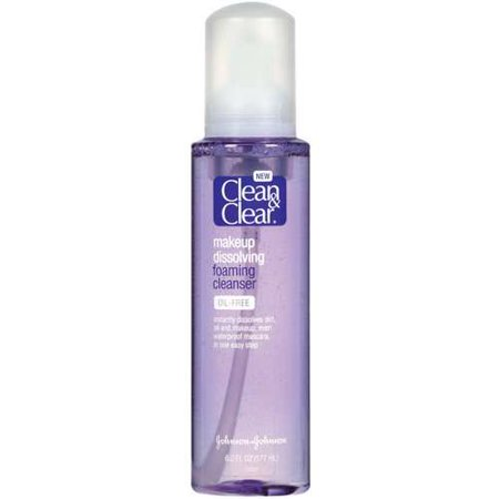 clean and clear foaming cleanser review