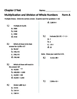 grade 9 math exam review with answers