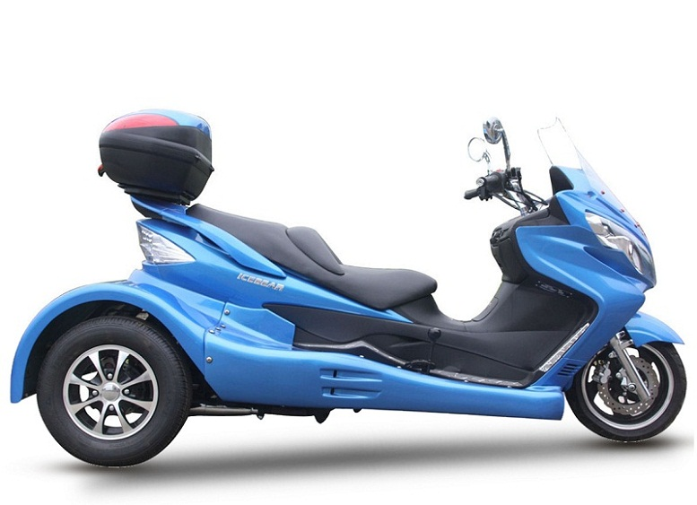roadrunner 300cc trike scooter review