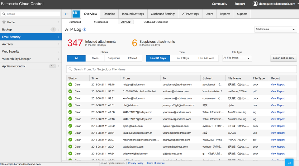 barracuda essentials for office 365 review
