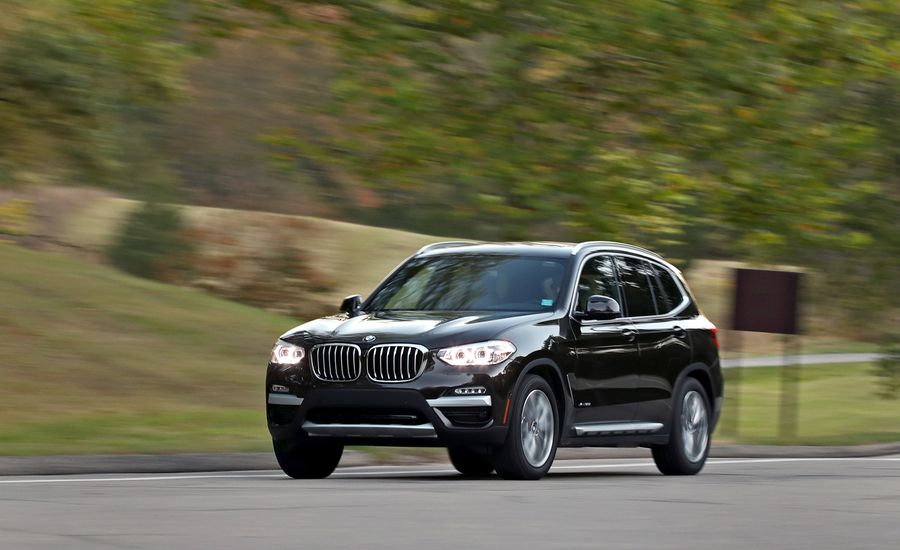 bmw x3 tow car review
