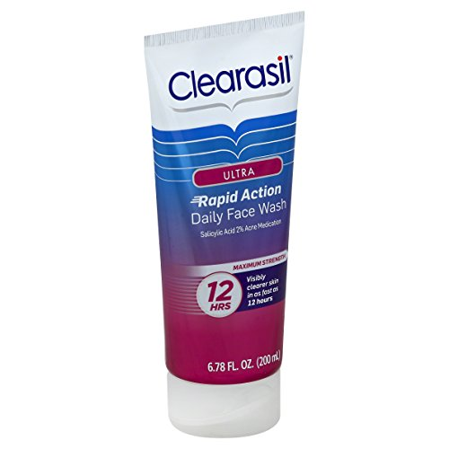 clearasil 12 hour face wash review