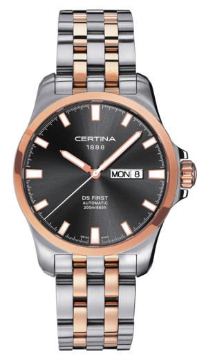 certina ds first day date automatic review