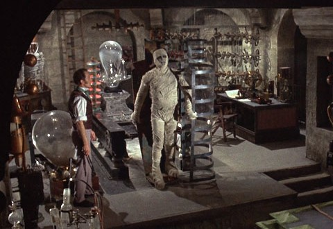 curse of frankenstein blu ray review