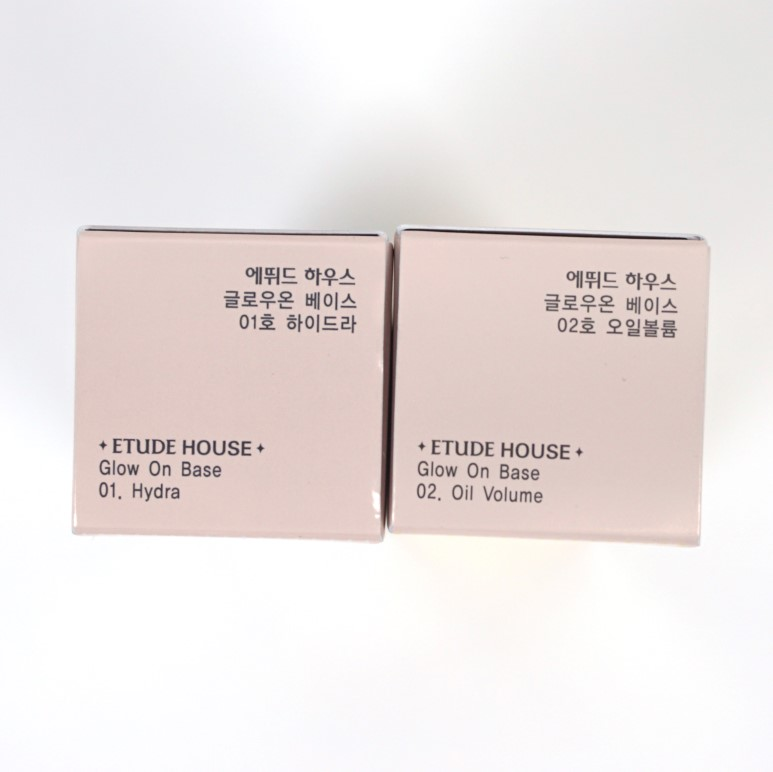 etude house glow on base review